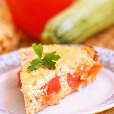 Рецепт пирога с сыром и творогом