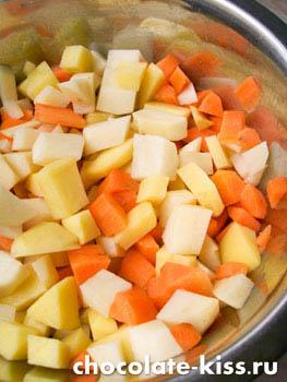 Грибной суп от Юлии Высоцкой