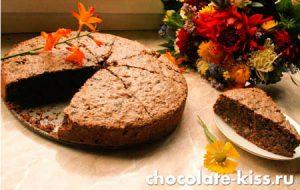Шоколадный торт от Юлии Высоцкой