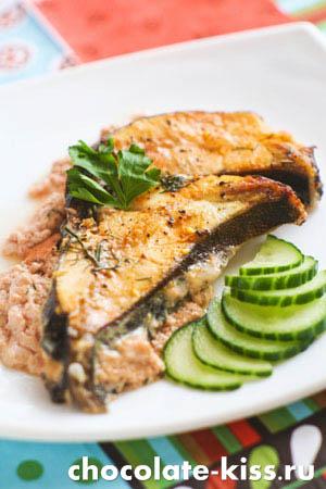 Рыба с томатной пастой