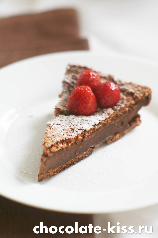 Домашний шоколадный пудинг