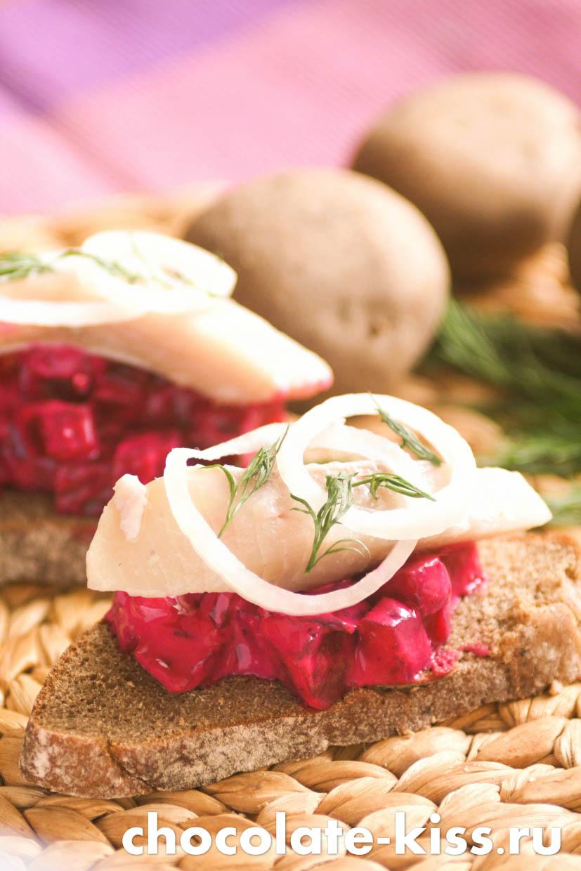 Салат из свеклы с йогуртом