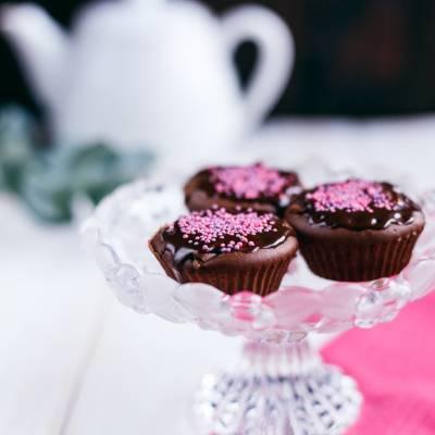 Простые шоколадные маффины