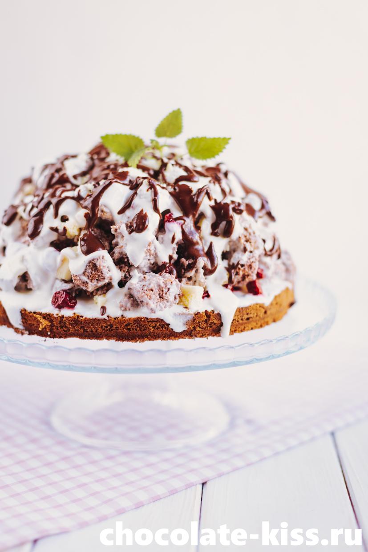 Торт «Панчо » с вишней