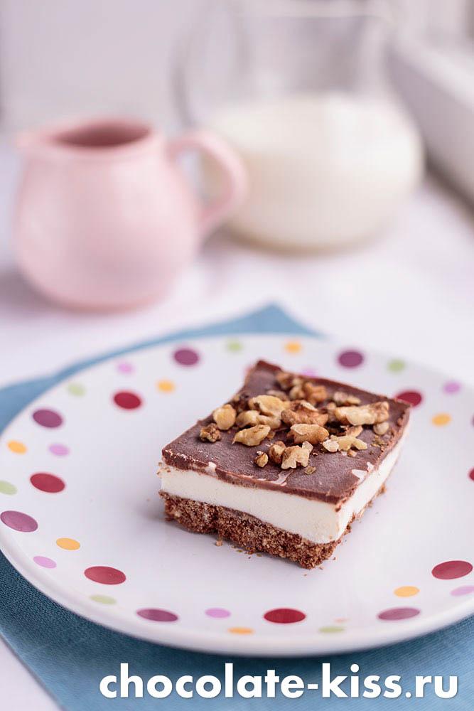 Шоколадный торт – мороженое