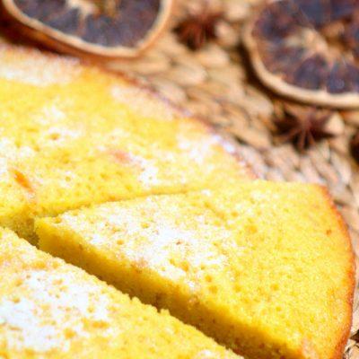 Простой апельсиновый пирог