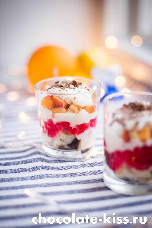 Десерт с заварным кремом