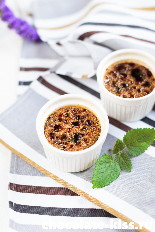 Крем – брюле с кофе