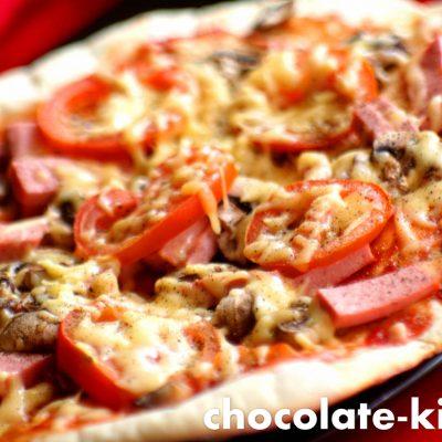 Итальянская пицца в духовке