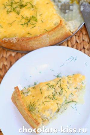 Вкусный капустный пирог