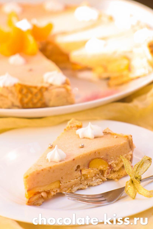 Домашний торт — мороженое
