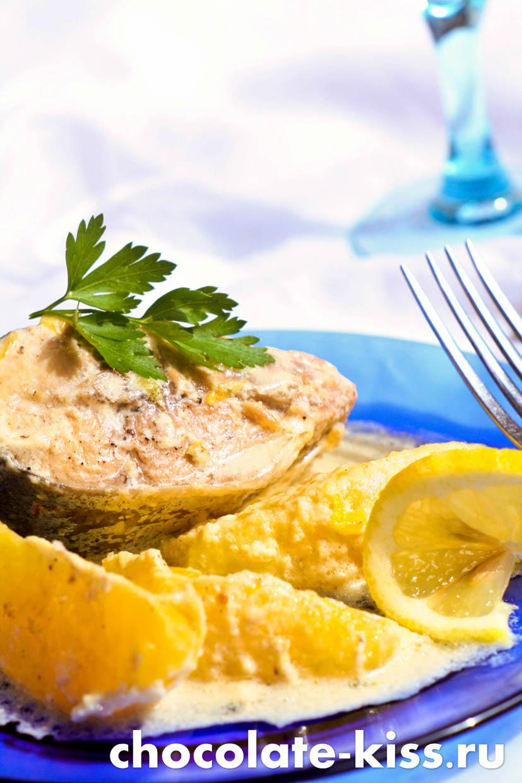 Рыба в сливках на сковороде