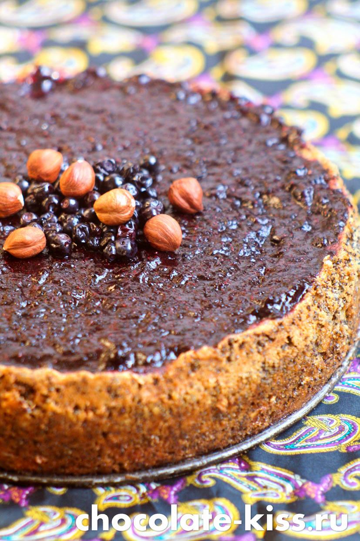 Маковый пирог без муки