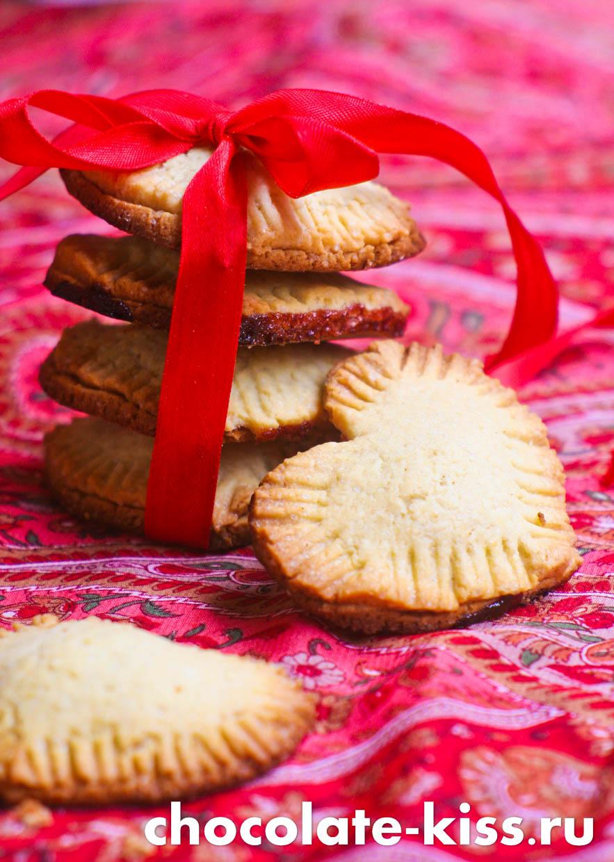 Домашнее печенье «Сердечки»