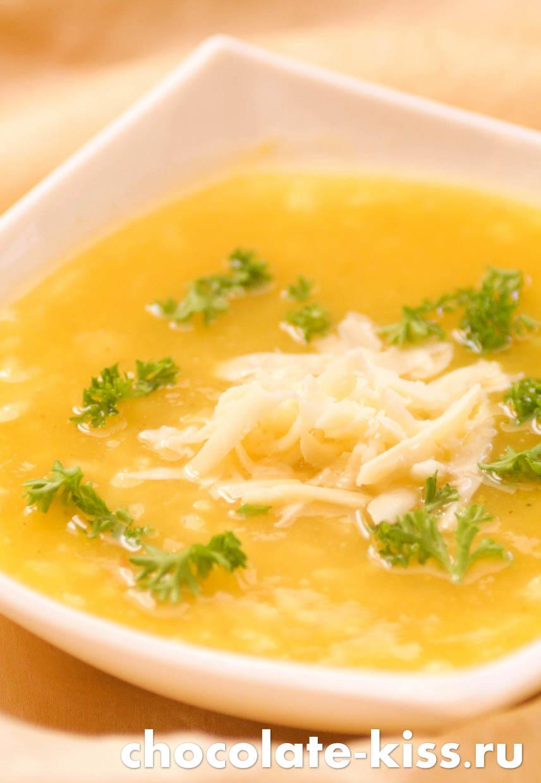 Суп пюре из тыквы и картофеля