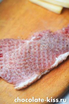 Мешочки из свинины