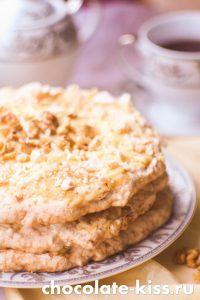 Торт – безе с заварным кремом