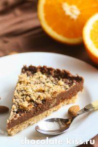 Шоколадный торт с апельсинами