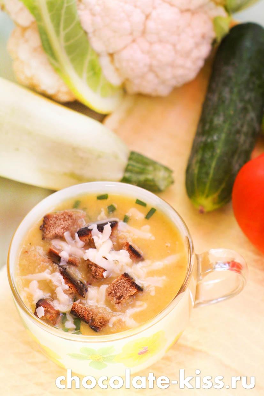 Кабачковый суп — пюре