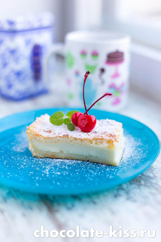 «Умное» пирожное в духовке