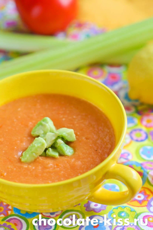 Суп – пюре из фасоли