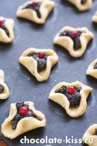 Песочное печенье с маком