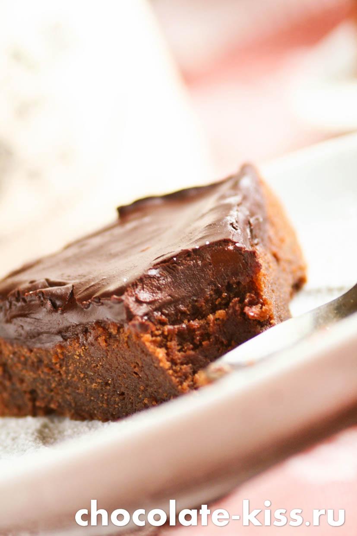 Домашний шоколадный кекс