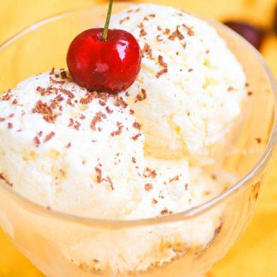 Домашнее низкокалорийное мороженое