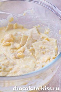 Запеканка из макарон с сыром и яйцом