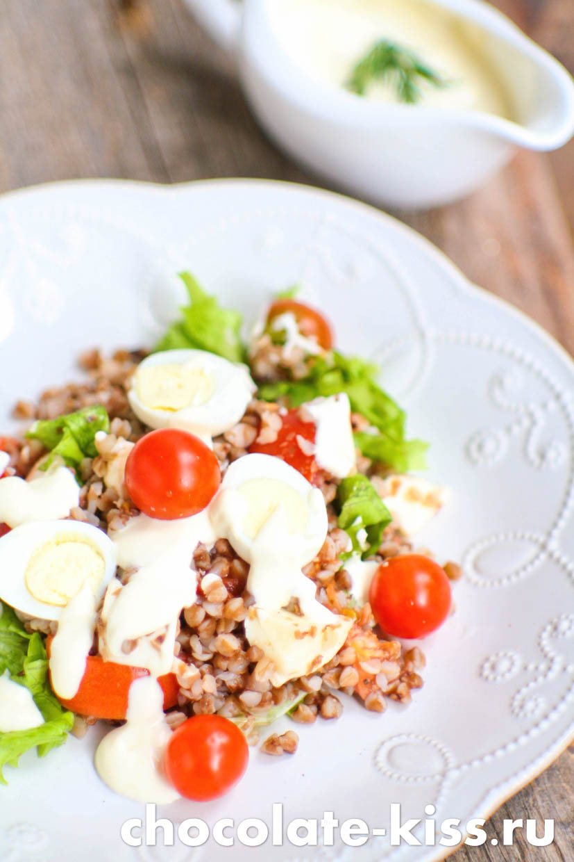 Гречневый салат
