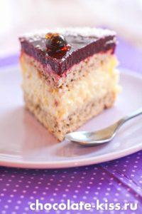 Торт со смородиной