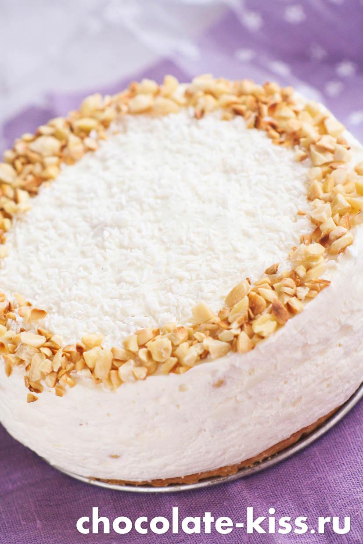 Вкусный торт «Рафаэлло»