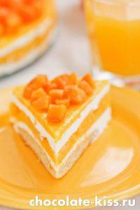 Торт с сухофруктами