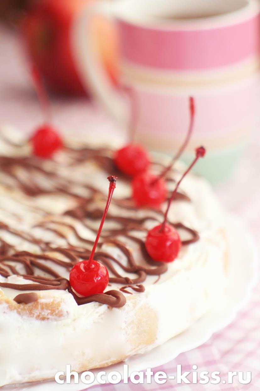 Домашний торт «Дамские пальчики»