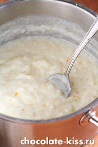 Рисовая каша с корицей