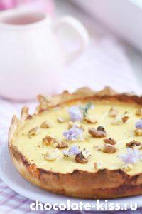 Лимонный пирог в духовке