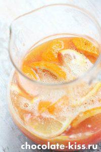 Лимонад из лимона и апельсина