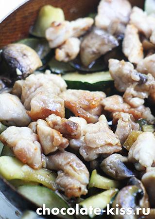 Стир фрай из курицы