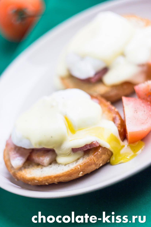 Яйца «Бенедикт» и соус для них
