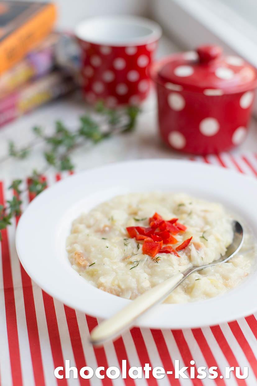 Простой луковый суп