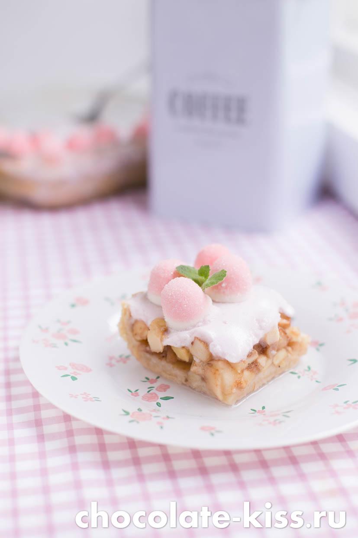 Пирог с маршмеллоу