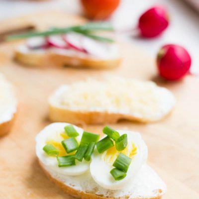 Полезные бутерброды на завтрак