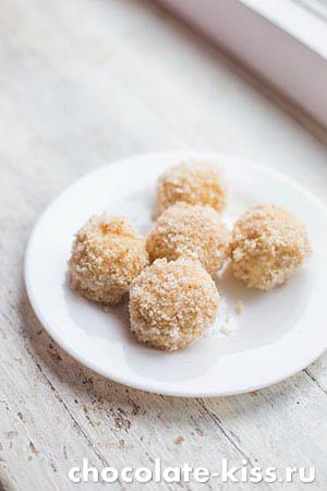 Сырные шарики из моцареллы