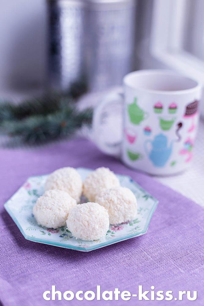 Рецепт домашних конфет «Рафаэлло»