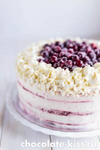 Торт «Красный бархат» с маскарпоне
